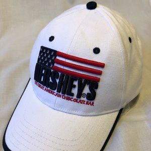 Other - Vintage Hershey's American Flag hat